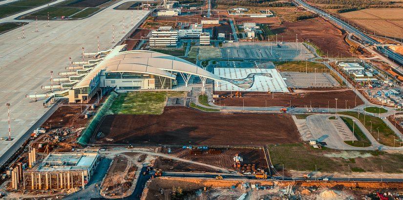 Открытие нового международного аэропорта Платов в Ростове-на-Дону