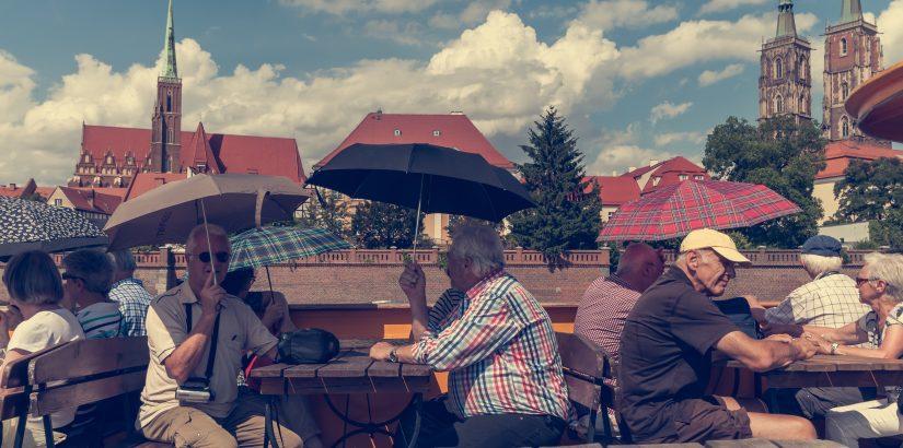 6,4% туристов из Екатеринбурга – пенсионеры