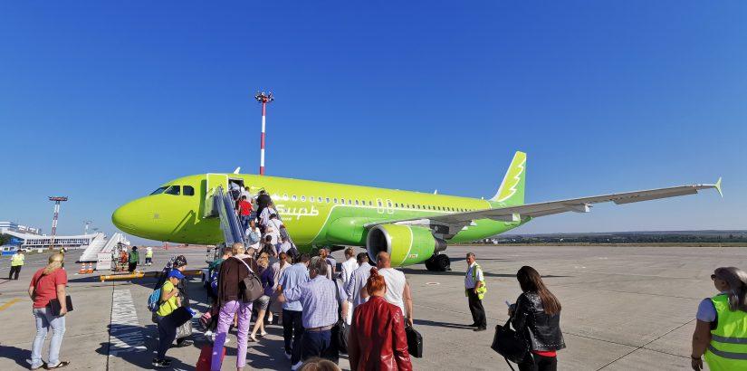 Авиакомпаия Сибирь S7