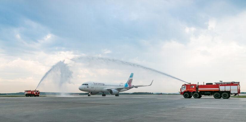 Eurowings приступили к полетам из Кольцово